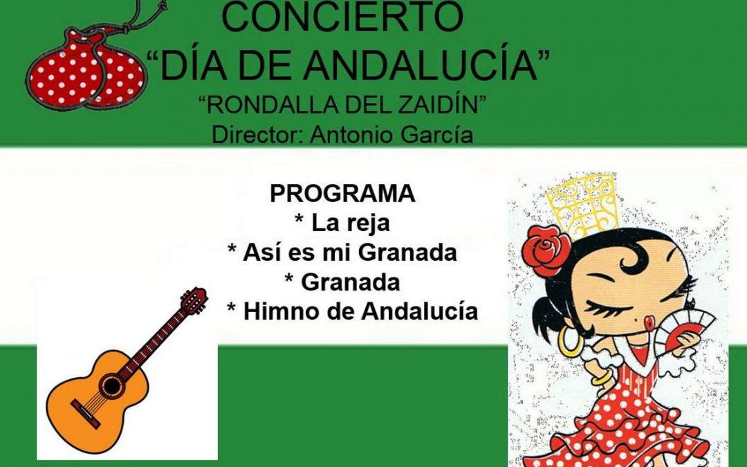 Preparando el día de Andalucía