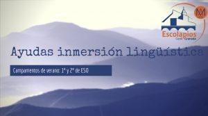Ayudas para campamentos de inmersión lingüística