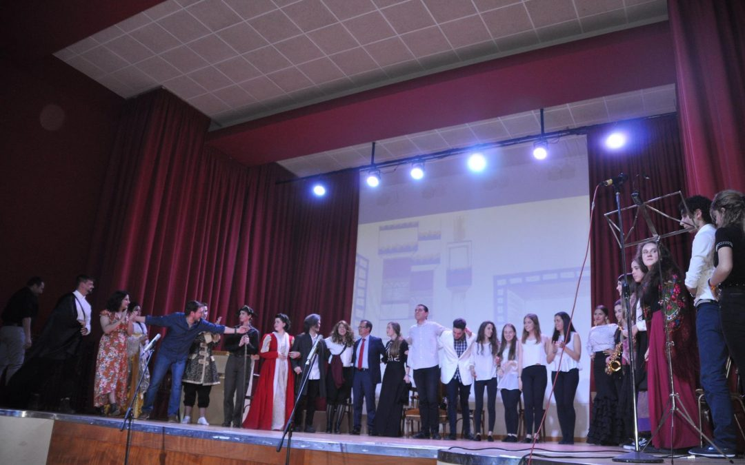 «La vida es sueño». Representación teatral y musical en el colegio