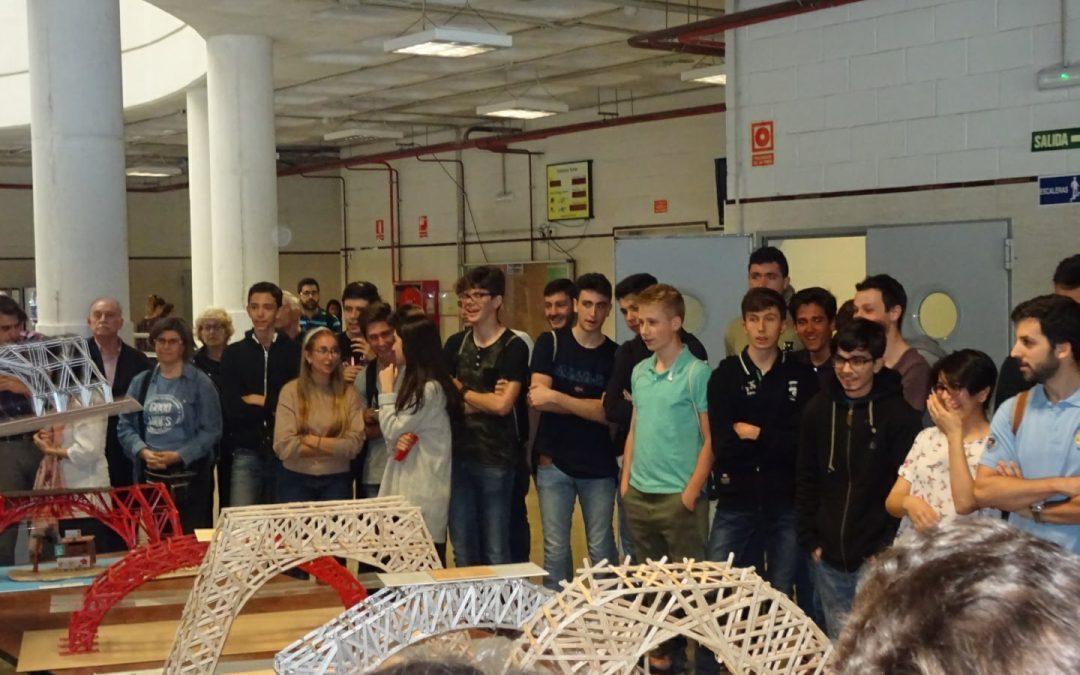 Ganadores  del concurso «Construye Tu Futuro» de la ETSI de Caminos de la Universidad de Granada.