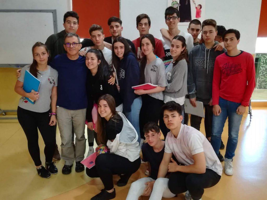 Visita de Alberto Sola - Colegios en Granada