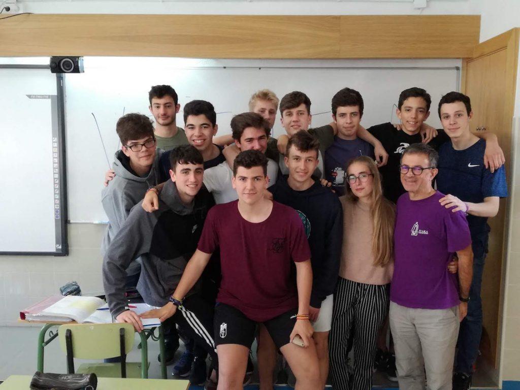 Visita de Alberto Sola - Escolapios Granada Genil