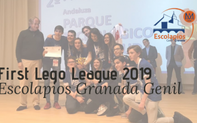 2º premio en la First Lego League Granada