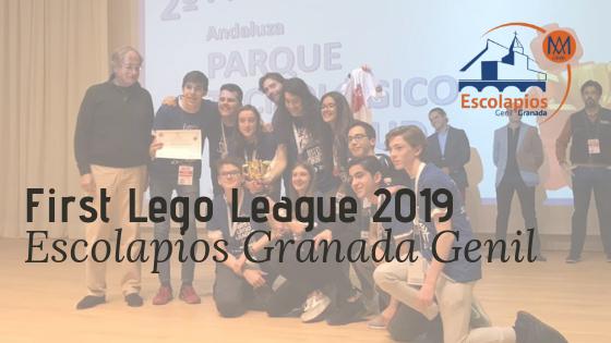 2º premio en la First Lego League Granada