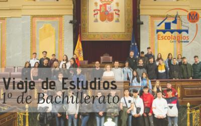 Viaje de Estudios de 1º de Bachillerato – 2019