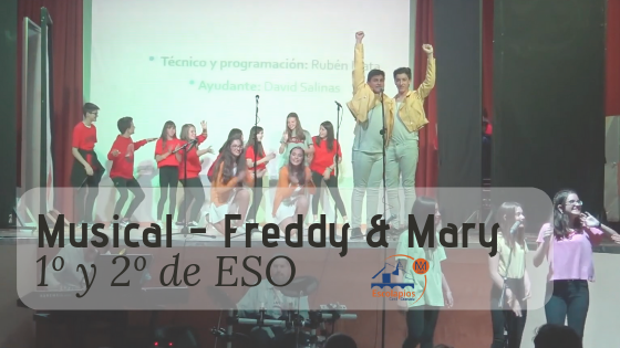 Musical de ESO: «Freddy & Mary» homenaje a Queen