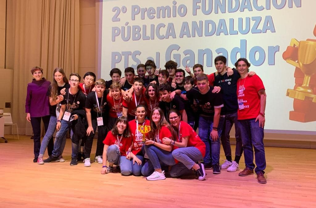 2º premio en la First Lego League Granada y ¡a la final nacional!